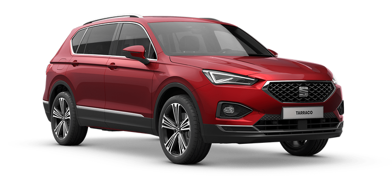 Der neue SEAT Tarraco in Merlot Red