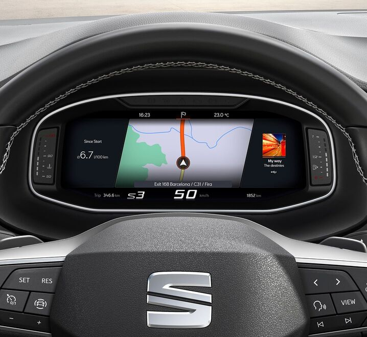 SEAT Ateca Digital Cockpit